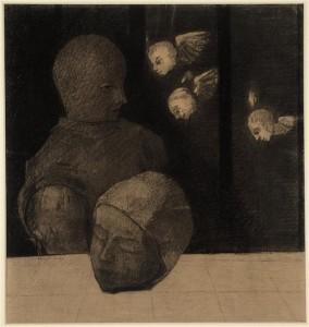 Le prisonnier (Odile Redon, 19e siècle) © RMN-Grand Palais/Gérard Blot