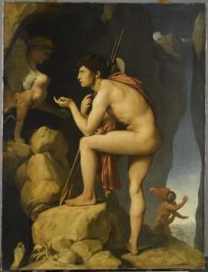 Œdipe explique l'énigme du Sphinx, Ingres (1808) © RMN-GP/S. Maréchalle
